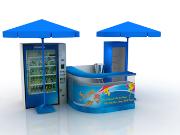 Quay ban hang Tet Pepsi